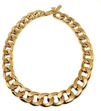 Coup De Coeur London Gold Chunky Chain Necklace