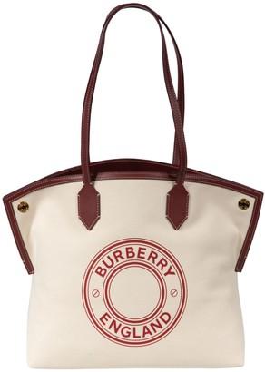 Burberry Logo Print Tote
