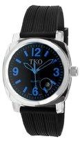 TKO ORLOGI Women's TK549-BLBK Unisex Milano Remixed Blue Black Strap Watch