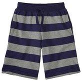 Boys Heavy Jersey Striped Shorts