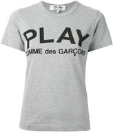 Comme des Garcons printed logo T-shirt - women - Cotton - M