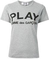 Comme des Garcons printed logo T-shirt - women - Cotton - S