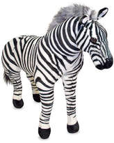 Melissa & Doug Giant Zebra Stuffed Animal