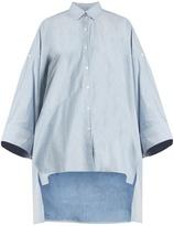 Palmer Harding PALMER/HARDING Poet chambray shirt