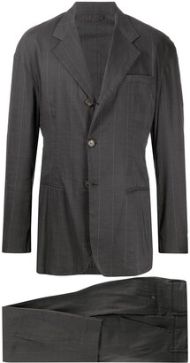 Dolce & Gabbana Pre Owned 1990s Pinstriped Two Piece Suit