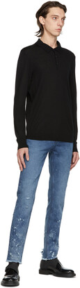 HUGO BOSS Black San Giovanni Long Sleeve Polo