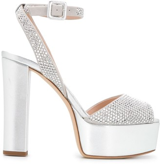 Giuseppe Zanotti Betty 120mm platform sandals