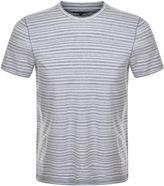 Michael Kors Spacedye Striped T Shirt Blue