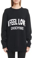 Givenchy I Feel Love Cotton Sweater