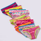 Pink Cookie 10-pk. patterned briefs - toddler