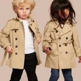 Burberry The Wiltshire - Heritage Trench Coat , Size: 6M, Yellow