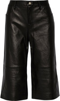 J Brand Judy leather culottes