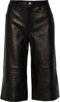 J Brand Judy leather culottes