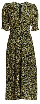 Faithfull The Brand Mejia Floral Midi Dress