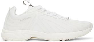 Acne Studios White Trail Sneakers