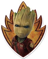 Marvel Guardians of the Galaxy Emblem of Groot Wall Art