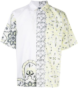 Levi's Made & Crafted Moroccan tile-print cotton shirt
