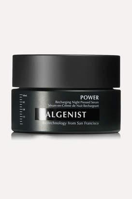 Algenist Power Recharging Night Pressed Serum, 60ml - Colorless