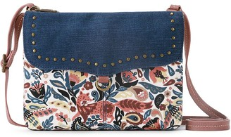 The Sak Sakroots Print Austen Double Gusset Crossbody Bag