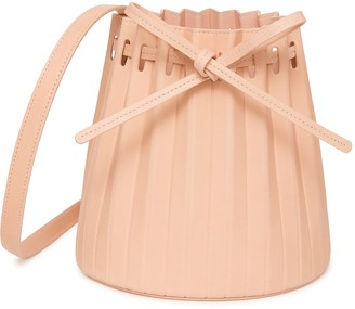 Mansur Gavriel Mini Pleated Bucket Bag - Rosa