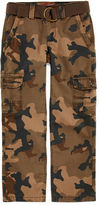 Arizona Belted Cargo Pants - Boys 8-20, Slim and Husky