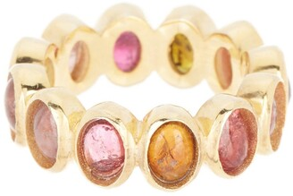 Forever Creations Usa Inc. Gold Vermeil Multi Tourmaline Ring