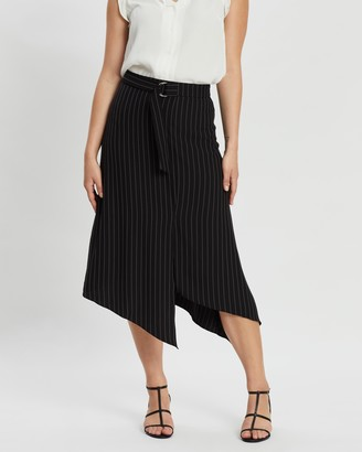 Forcast Oakley Striped Skirt