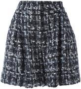 Dolce & Gabbana bouclé knit A-line shorts - women - Cotton/Acrylic/Polyamide/Wool - 46