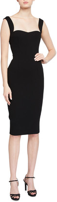 Victoria Beckham Curved Fitted Cami Dress