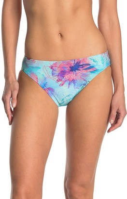 adidas Floral Hipster Bikini Bottoms