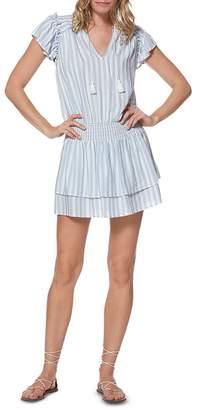 Paige Cristina Striped Mini Dress