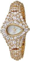 Adee Kaye Women's Quartz Brass Dress Watch, Color:Gold-Toned (Model: AL9703-LG)