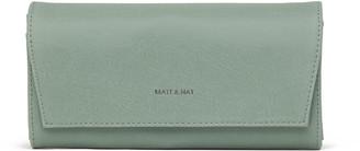 Matt & Nat VERA Wallet - Chili Matte Nickel