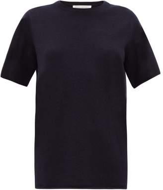 Extreme Cashmere - No. 64 Stretch-cashmere T-shirt - Womens - Navy