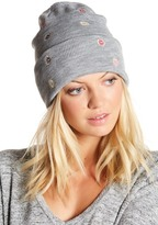 David & Young Donut Embroidery Fisherman Beanie
