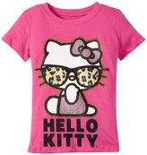 Hello Kitty Cool Glitter Tee (Toddler/Kid) - Fuchsia Purple - 5