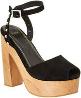 Maje Flash Suede Pump