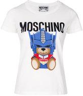 Moschino Transformer Bear slim fit T-shirt - women - Cotton - 40