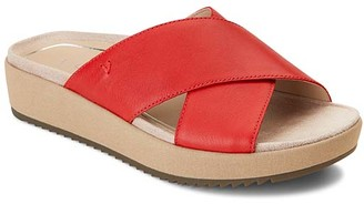 Vionic Women's Sandals CHRRY - Cherry Hayden Leather Sandal - Women