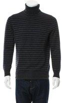 Dries Van Noten Striped Turtleneck Sweater