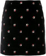 ALEXACHUNG Alexa Chung floral mini skirt
