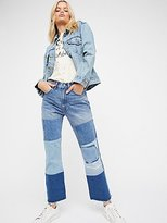 Levi's Leviâ€TMS 517 Patched Boot Jeans by at Free People