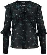 Fashion Union ROISIN RUFFLE Blouse smudge floral