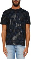 Valentino 'camustars' Camouflage T-shirt