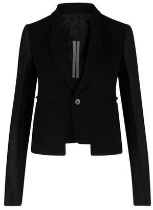 Rick Owens Blended wool jacket