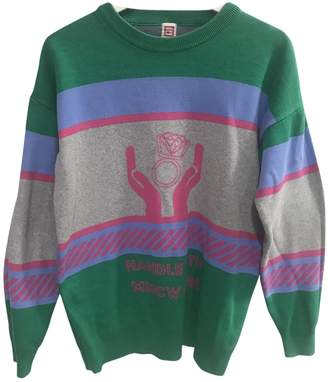 Green Cotton Non Signé / Unsigned Non Signe / Unsigned Knitwear