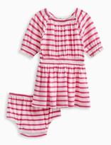 Splendid Baby Girl Off The Shoulder Stripe Dress