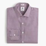 J.Crew Thomas Mason® for Ludlow shirt in grape tattersall