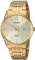 Citizen Men's Quartz Stainless Steel Casual Watch