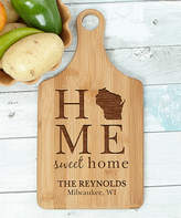 'Home Sweet Home' Personalized Bamboo Cutting Board